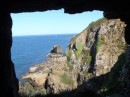 Sark...window in the rock...Man made but was a shear drop of about 300 feet to the rock below...why ?