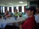 Lunch after the golf game.