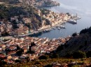Dodecanese - Symi Port from the road to Pedi