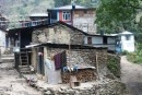Jagat - the first Buddhist village in the Marsyangdi gorge
