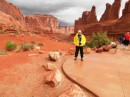 Me in Arghes Park. Moab. More rain