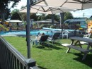 Holiday park pools