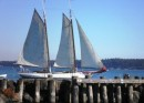 Schooner off Point Hudson
