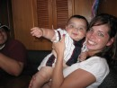 My Daughter Marcy and Grandson Logan