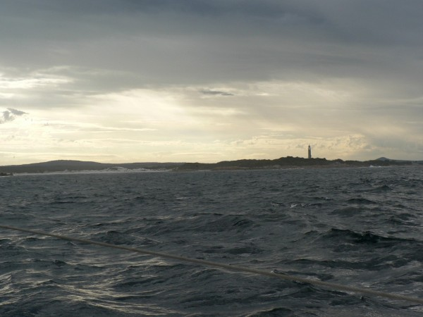 Eddystone Point Lighthouse - first stop on east coast of Tasmania