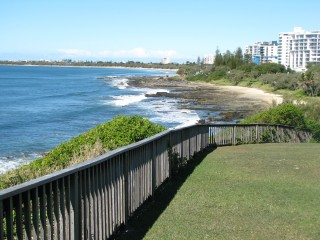 Beach at Mooloolaba