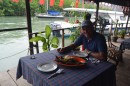 Fish farm lunch up the river Langkawi