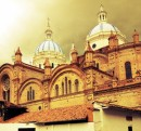 The grand catherdral in Cuenca - magical spot