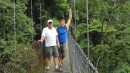 Len and Eric - Hanging Bridges (dont look down!)