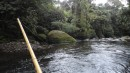 Bamboo pole fishing - first time for everything!