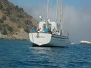 Anchored in Whites - Catalina Island