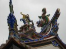 Mar Chor is the patron saint of Seafarers and is often represented by swirling dragon pillars and roof adornments.