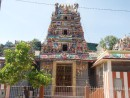 We visited many of these colorful Hindu Temples that were guarded by statues with many arms.