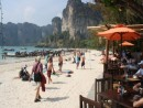 Railay Beach offers excellent access so some of the best climbs in Thailand.