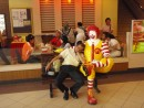 Everybody loves Ronald McDonald.