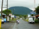 Arenal seen from the town of La Fortuna