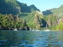 Fatu Hiva, The Bay of Virgins, one of the most photographed bays in sail magazines