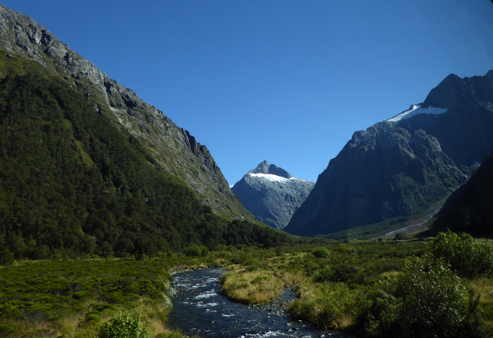 Road to Milford Sound