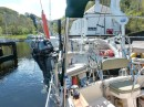 Departing Crinan basin