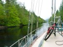 Cruising through the Caledonian Canal