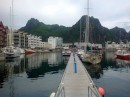 Svolvaer in the Lofotens.