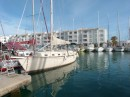 Our berth in Almerimar.