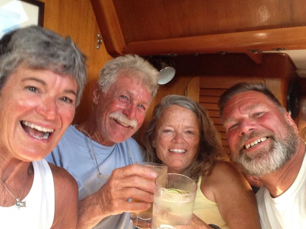Happy crew after Banderas Bay Regatta!