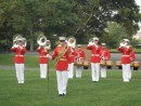 Brass Section and Drum Major