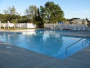 The outdoor pool at our rec center.