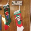 The stockings were hung on the bulkhead with care....