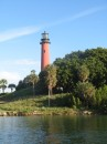 Lighthouse at Jupitor Inlet.