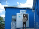 Blue store on Staniel Cay
