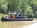 working tugs on the canal