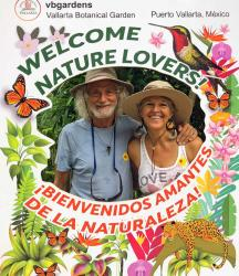 We love the Vallarta Botanical Gardens and were thrilled to take Mom Jean for a visit. She