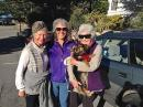 Dear life-time Pacific Grove and Carmel  friends, Inge and Sheila (with Bodhi!) have known Heidi her whole life.