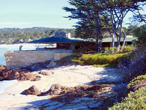 Frank Lloyd Wright Ship-house in Carmel.