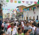 Festival of Guadalupe is December 1-12... the main street in PV is closed each day for the throngs of people making the pilgrimage to the Guadalupe Cathedral. At night there are fireworks, food stands, and bands playing in the streets. Amazing people watching.
