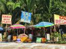 One of many road-side produce stands in the state of Nayarit.
