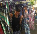 Top of the list upon arriving in Banderas Bay was to hit the La Cruz Sunday market so Sara and Heidi could buy cute sundresses for $350 pesos!
