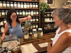 Walking into Rebecca's Herbal Apothecary & Supplies was like a throwback to walking into Heidi's mom Jean's Herb Store in Jackson, Wyoming 30+ years ago. It smelled exactly the same! Contrary to what you might be thinking, being in Boulder, Colorado, a 420-state… that's not the type of herbs we were after! We needed to stock up on some of the traditional Western medicinal herbs that we can't find in Mexico, like elderflower and yarrow. We really enjoyed our chat with Rebecca too!