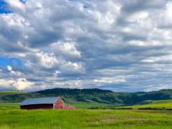 You can see why Montana is called Big Sky Country...