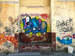 Artistic grafiti is everywhere in Havana and adds to the cultural color.