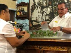 Mojitos anyone?! Because limes are so precious in Cuba, most Mojitos we had in Cuba did not have a lime garnish...