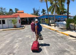 Arrival at Platten Yacht Charter, Cienfuegos. What you don
