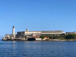 Faro Castillo del Morro is the lighthouse at the entrance to Havana Harbor. It was built in 1845 on the ramparts of the Castillo de los Tres Reyes Magos del Morro, an old fortress guarding the harbor of Havana. In case you