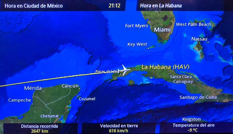 On our approach to Havana the pilot announced that the Havana airport had temporarily closed (???) and we would be circling for a bit.... one hour later the airport finally reopened and we landed at 12:30am, after a low approach.