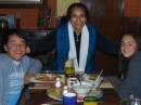 The beautiful and loving Maria of Casona Rosa with the kiddos.  She makes THE BEST Chilaquiles we