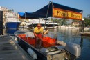Our charming French Baker who delivers the the marina and the lagoon!