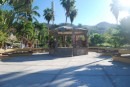 The town square in La manzanillo