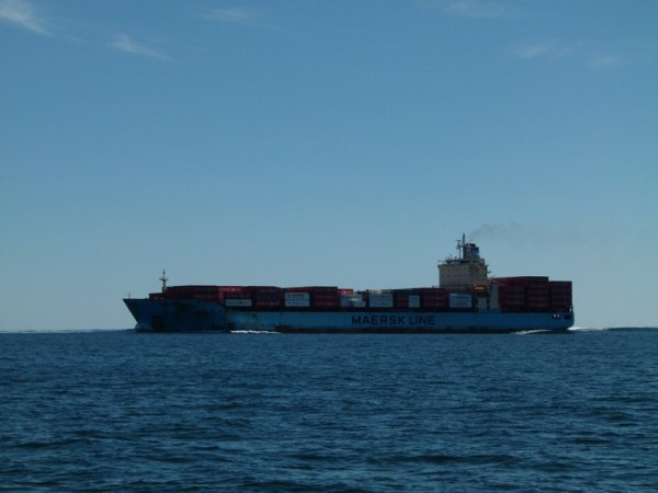 Here is another ship that went close by us.
